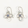Daisy Drop Earrings by Berlin Randall with iolite