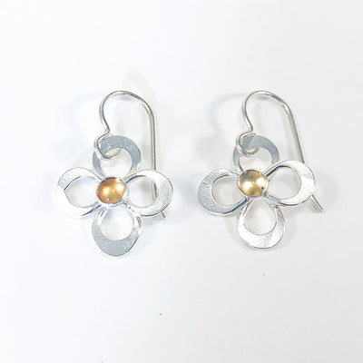 Daisy Drop Earrings by Berlin Randall with citrine