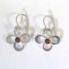 Daisy Drop Earrings by Berlin Randall with dark citrine