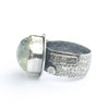 Sterling Prasiolite Ring