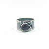 size 8 Oxidized Sterling Natural Surface Tourmaline Ring by Berlin Randall