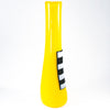 side view of Patched Yellow Vase by Karine Demers