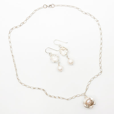 Water Drop Pearl Necklace