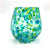 Blue & Green Speckled Wine Tumbler by Nate Nardi