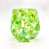Spring Green Wine Tumbler by Nate Nardi