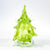 Clear Light Green Christmas Tree by Nate Nardi