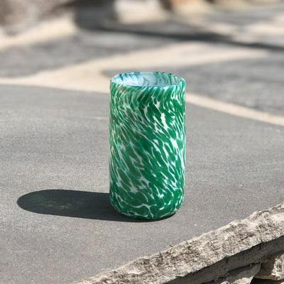 green Shot Glass by Nate Nardi
