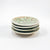 Set of 4 Oil Dipper Dishes with Green Glaze by Wendy Wrenn Werstlein