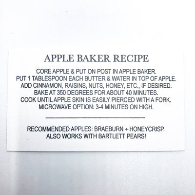 recipe for Apple Baker by Terrie Ponder Watch