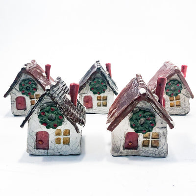 Grouping of Winter Houses by John Lowes