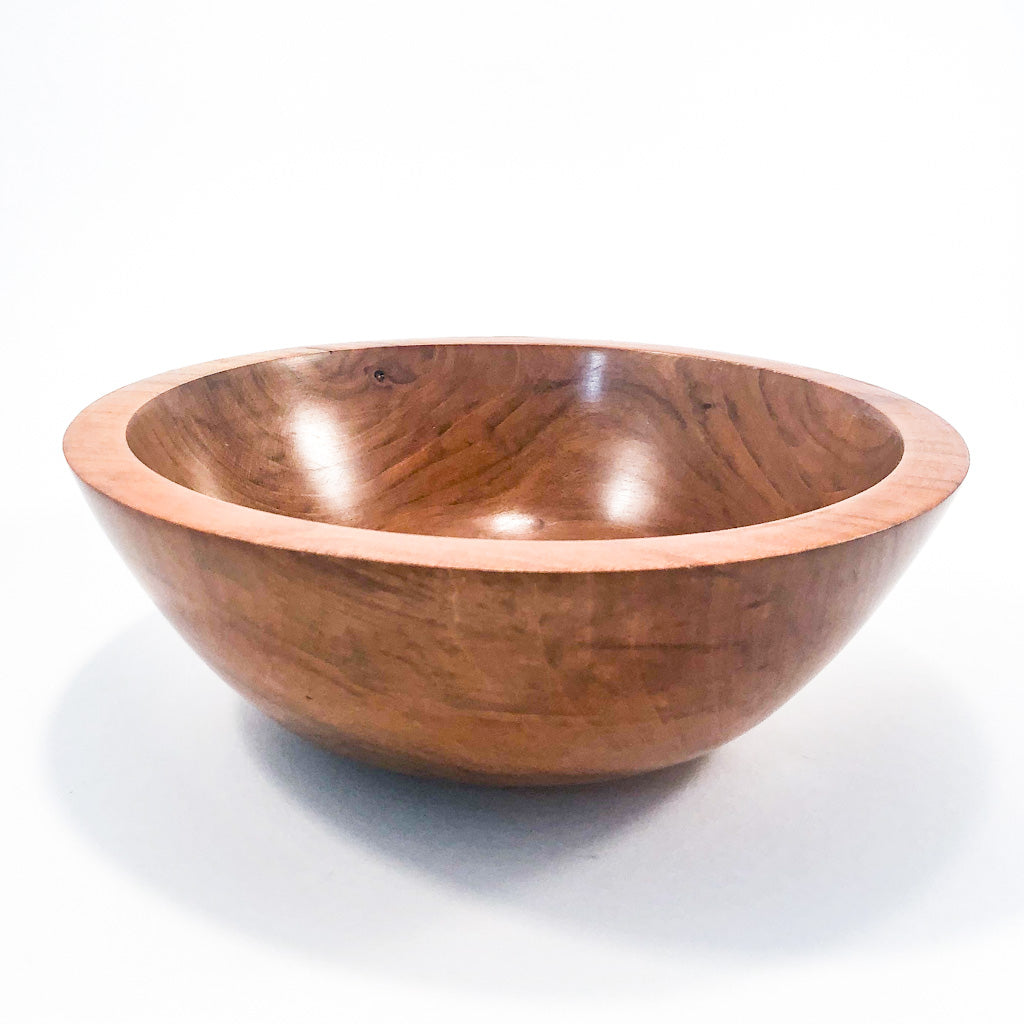 Figured Cherry Bowl by Gary Beasley