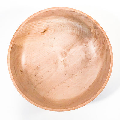 over top view of Shallow River Birch Bowl by Gary Beasley