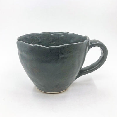 Charcoal Latte Cup by Nona Kelhofer