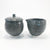 Charcoal Sugar and Creamer Set by Nona Kelhofer