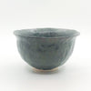 side view of Charcoal Flared Rim Bowl by Nona Kelhofer