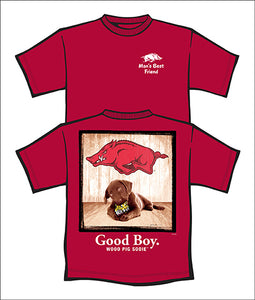 Arkansas Good Boy S/S tee