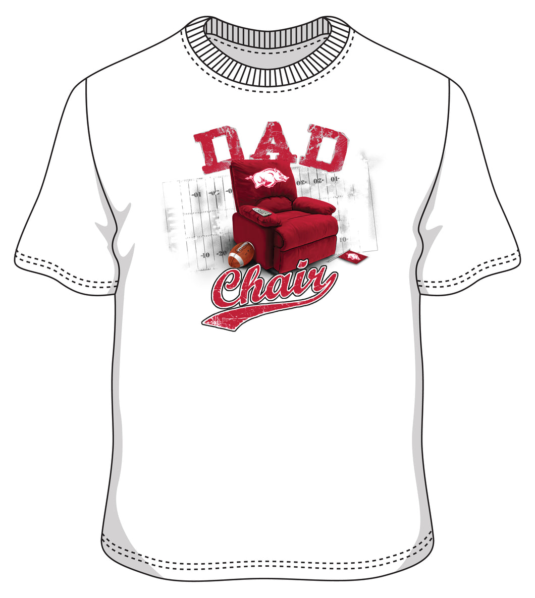Arkansas S/S Dad Chair tee