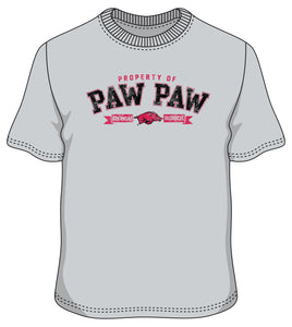 Arkansas S/S Paw Paw Property tee