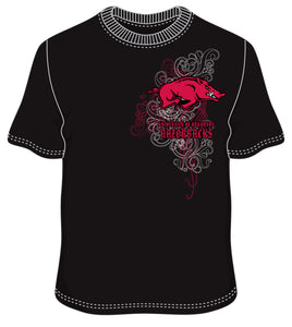 Arkansas Form Black t shirt