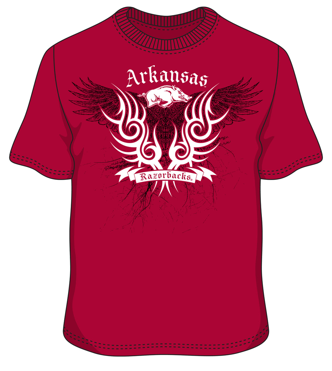 Arkansas Valiant Wings t shirt