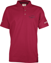 Load image into Gallery viewer, S/S Northfork Solid Polo - Cardinal Red