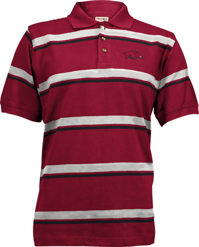 Traveler S/S Striped Polo