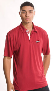 S/S Arkansas First Cut Performance Polo