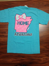 Load image into Gallery viewer, Arkansas State Bow Tee