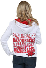 Load image into Gallery viewer, Razorback Star Studded Zip Up