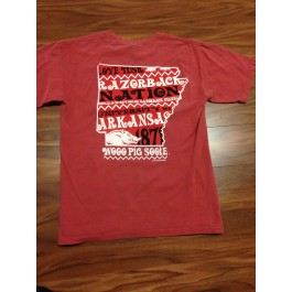 Arkansas State Words Tee