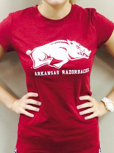 Arkansas Razorbacks Mascot Tee