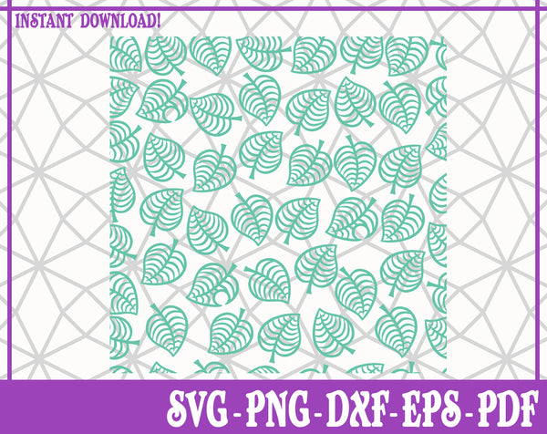 Animal Crossing Repeating Pattern SVG, Pdf, Eps, Dxf PNG files for Cricut, Silhouette