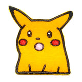 Surprised Pikachu Meme Sew On Embroidered Patch