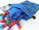 Handmade Drawstring bag - Pokemon Specialized Master - STARTERS