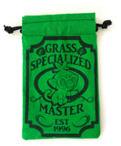 Handmade Drawstring bag - Pokemon Specialized Master - GRASS