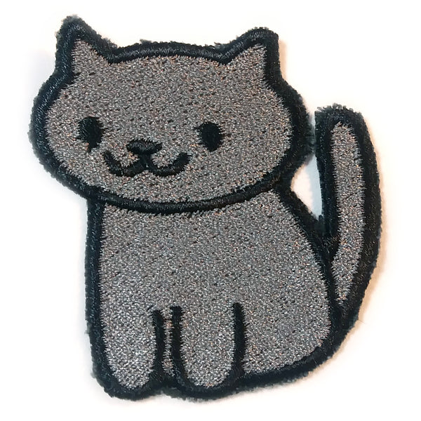Shadow Handmade Sew On Embroidered Patch