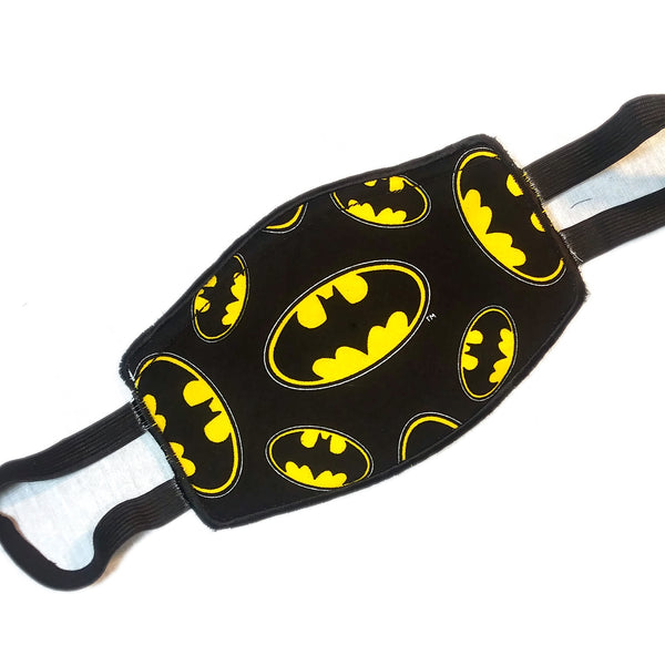 Superhero Embroidered Mask Pick your Fabric!