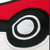 Custom Applique Pokemon Embroidered Mask