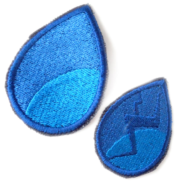Lapis Handmade Sew On Embroidered Patch