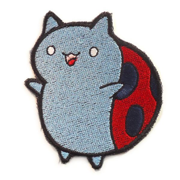Catbug Handmade Sew On Embroidered Patch