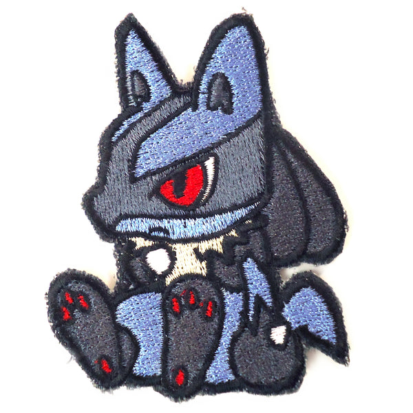Lucario Handmade Sew On Embroidered Patch