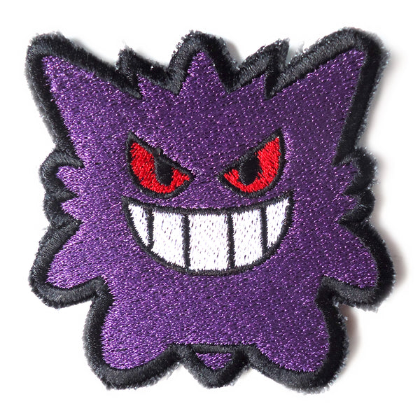 Gengar Handmade Sew On Embroidered Patch