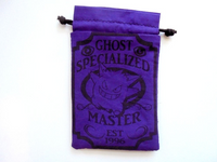 Handmade Drawstring bag - Pokemon Specialized Master - Ghost