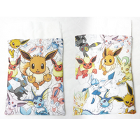 Handmade Drawstring bag - Pokemon Specialized Master - Eeveelutions