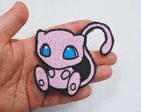 Mew Handmade Sew On Embroidered Patch