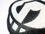Team Skull Handmade Sew On Embroidered Patch