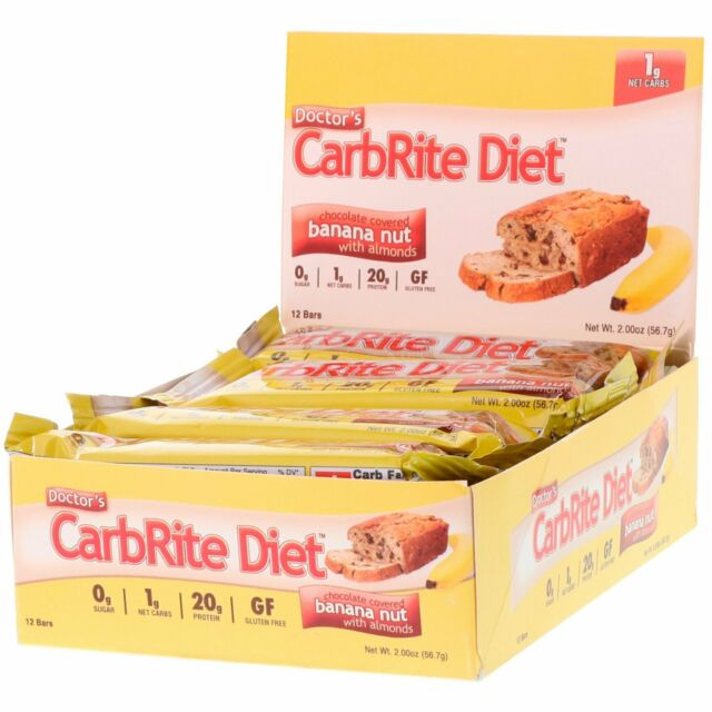 Doctor's CarbRite Diet Bars | 12 bars