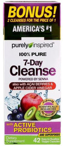 100% Pure 7-Day Cleanse | 42 vcaps