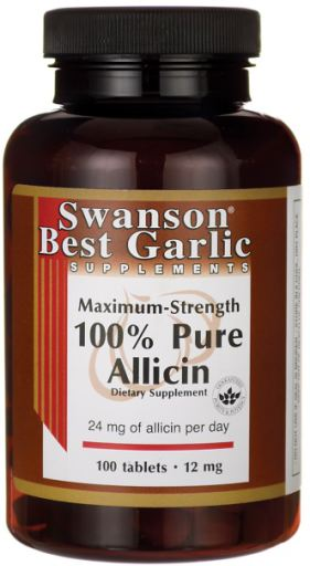 100% Pure Allicin | 12mg Maximum-Strength | 100 tablets