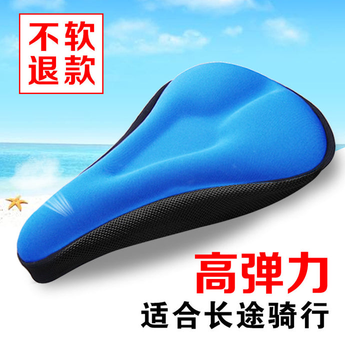 Gel Bike Seat Cover Bike Saddle Cover For Mountain Bike Seat and Road Bike Saddle